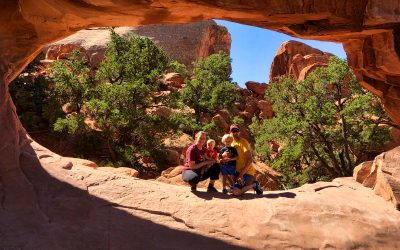Double O, Navajo, and Partition Arches, Arches National Park, Ut
