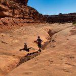 Moonshine Wash Slot Canyon