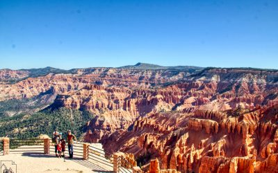 Spectra Point, Ramparts, and Bartizan Arch, Cedar Breaks National Monument, Ut