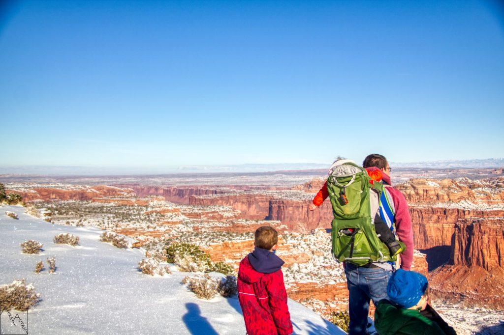 Canyonlands Aztec Butte Views