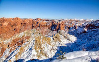 Upheaval Dome, Canyonlands National Park, Ut